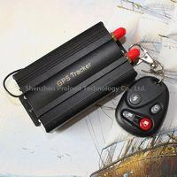 Rastreador gps tracker car vehicle tk-103B Com Controle Remoto GSM Alarm SD Card Slot Anti theft for brazilian Pronta Entrega