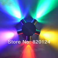 5W LED Spotlights lamp Wall light colorful RED/GREEN/BLUE Warm / cool white AC90V-260V Spot lamp light KTV CLUB DISCO BAR AISIDE