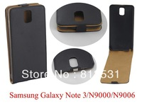 Freeshipping Flip Leather Case for For Samsung GALAXY Note 3 N9006