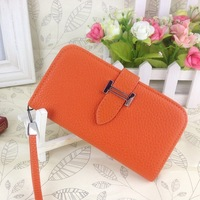 France Women Luxury Style For samsung Galaxy S4/9500 Leather Case Fashion Case Wallet Flip Cover Portable Function 9500 Case