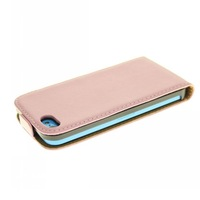 Free Shipping Magnetic Flip PU Leather Case Cover For iPhone 5C High Quality Black Pink White