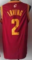 Kyrie Irving # 2 Cleveland cheap Jersey name and number are sewn on basketball Jersey