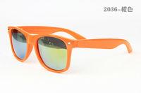 Orange Colour Free Shipping Men Women Sunglasses UV High Purity Designer Vintage Aviator  Sunglasses  2036