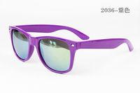 Purple Sunglasses Best Selling Fashion Designer sunglasses, Mens and Womens sun glasses Free shipping  2036