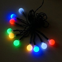 Free shipping 4.5m 10 led solar led outdoor light waterproof string lights holiday lanterns for cristmas decoration