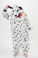 Fashion New Cute Spots Dog Cosplay Adult Animal Pajamas Costumes Pyjamas SleepWear. Free Shipping.