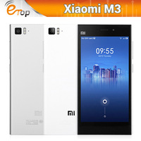 Original Xiaomi M3 Mi3 Unlocked phone Snapdragon800 Quad Core 2.3GHz 2GB RAM 16GB/64GB ROM 13.0MP Camera Android 4.2