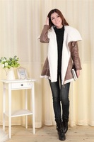 Free shipping thickening cotton-padded jacket women winter wadded jacket M L