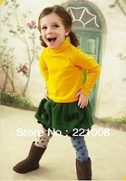 2013 autumn hot sale girls boys new fashion baby highneck sweatshirts popular children outerwear 5pcs/lot  free shipping