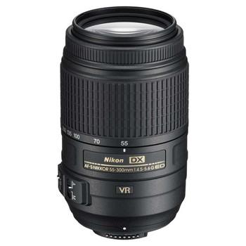 The lens for Nikon AF-S DX NIKKOR 55-300mm f/4.5-5.6G ED VR for D90 D5100 D5000 SLR