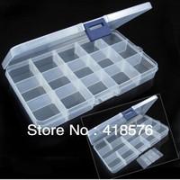 10/15 Cells Home organizer supply Wheel Jewelry Pill Nail Art Drug Storage Ring Case zakka Box