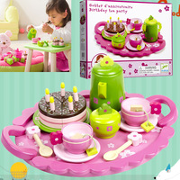 Free Shipping Wood France Brant Children Cake Toy Model Set/Kitchen Toys