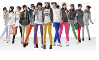 women pencil pants with many colors