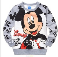 HOT new style !! best selling !Retail Spring Autumn Cartoon Boys kids Mickey Mcuse long sleeve coat children's clothing coat