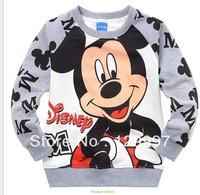 HOT new style !! best selling !Retail Spring Autumn Cartoon Boys kids Mickey Mcuse long sleeve coat children's clothing coat