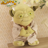 35cm wise old man, Wholesale - Star Wars / Yoda / plush doll / toy creative gifts toys alien girl