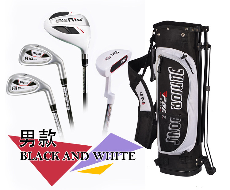 Promotion Carbon fiber High-grade Golf Clubs Golf whole set Golf accessories Children' set of Lever Free shipping(China (Mainland))