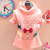 2013 female child bow sweater bygg bow sweater