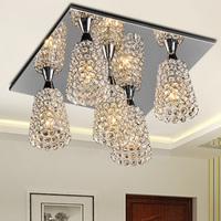 Free shipping Brief k9 modern crystal pendant lamp art pendant light lamps frhc 63