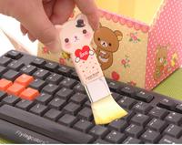 3740 Min order $10 (mix order) free shipping cute cartoon keyboard brush mini cleaning brush clean sweep little gift