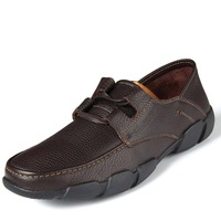 2013 New England men's cowhide leather business casual shoes large size men's shoes