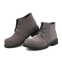 Scrub  men boots low to help Martin boots Korean version of the fall fashion suede shoes men new wave