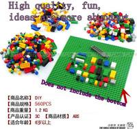 BanBao Brand 560 Pcs Lot Blocks DIY Toy Building block 3D Plastic Self-Locking Bricks Educational Toys for children's Gift