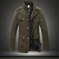 Hot-selling Free shipping 2013 winter men's clothing fashion plus size With cotton wool wadded jacket  keeping warm L-6XL SIZE