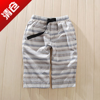 8408 2013 Men trend of summer elastic lacing casual shorts 0.25kg