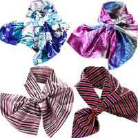 Scarf satin magic silk scarf magicaf silk scarf silk scarf small facecloth