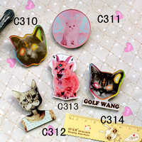Min Order is $10 (Mix Order)Customize All Kinds of Acrylic Badges HARAJUKU Badge Brooches Fashion Accessories Wholesale/Retail