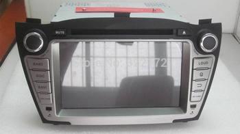 7 Inch Car Radio Audio DVD Player GPS Bluetooth TV iPod For HYUNDAI TUCSON  IX35 2009~2012 Free Shipping