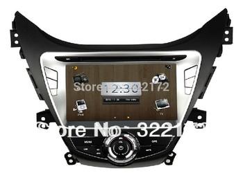 8 Inch Car Radio Audio DVD Player GPS Bluetooth TV iPod For HYUNDAI Elantra Avante i35 2011~2013 Free Shipping