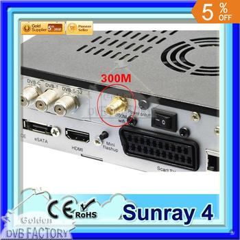 800 se Sunray sr4 With Wifi Dm 800se Triple Tuner Satellite Recevier Dm800hd se wifi Wholesale by post Free Shipping(3pcs SR4)