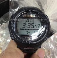Hi-power waterproof solar watch large screen electronic watch sports watch multicolor
