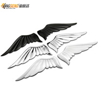 Angel Wings car stickers metal personalized wings emblem decoration stickers car label body stickers
