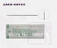 Wholesale Free shipping 100pcs Permanent makeup tattoo Needle 1 Prong Round Needle & lip tattoo needle & eyebrow needle