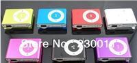 Free Shipping!!!Mini inserting card small clip MP3