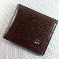 Free Shipping Wallet male fashion male short design wallet autumn horizontal wallet