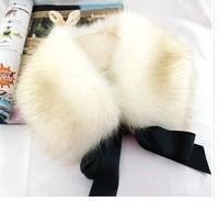 Min order is 10usd ! 100% Handmade Fahion Fabric punk collar Bohemia  fur candy choker neckalce ! free shipping!