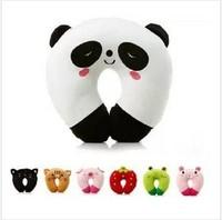 Trendy Cute Cartoon Panda Pattern Design Travel car home pillow, U shape Neck pillow / rest pillow