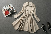 2013 To 2014 European Fashion Autumn and Winter Fishtail Outwear Women