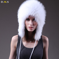 Fox fur hat female fur winter fashion all-match thermal ear fur hat