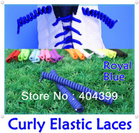 New Arrival~500pair/lot~Curly Elastic Laces~Spring Elastic Laces~No Tie Elastic Shoelaces~10 colors available, DHL FREE SHIPPING