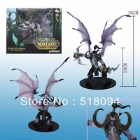 DC Unlimited WOW World of Warcraft SERIES 1 DC 1 Illidan Stormrage 13inches Collectable Game Toys Model Doll