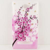Sakura Flower Hard CASE COVER SKIN COATING FOR HTC Windows Phone 8S