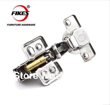 Clip on 304 stainless steel hinge, soft close ,Brass buffer ,hydraulic hinge full overlay ,half overlay ,insert type(China (Mainland))
