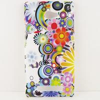 Color Art Flower Hard CASE COVER SKIN COATING FOR HTC Windows Phone 8X
