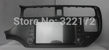 8 Inch Car Radio/Audio/DVD Player/GPS/TV for KIA K3/RIO 2011~2012+Free Shipping