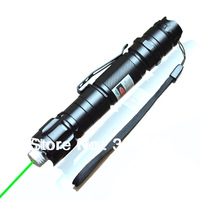5 Mile Range 532nm Green Laser Pointer Pen Clip Visible Beam Mark Direct 150